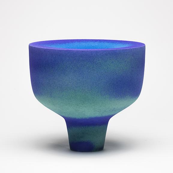 Antonino SPOTO, Blue Bowl 2014, Stoneware, courtesy of WCC-BE, Photo©dbastin