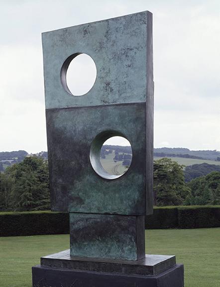 Barbara Hepworth, Squares with Two Circles 1963  © Tate