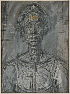 Image: Bust of Annette by Alberto Giacometti, 1954 Private Collection Filename: npg.979.1423.3.jpg Copyright: The Estate of Alberto Giacometti (Fondation Giacometti, Paris and ADAGP, Paris) 2015 courtesy of the National Portrait Gallery