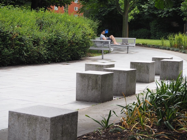A similar seating concept has been  added in Tanner Street Park in London Bridge
