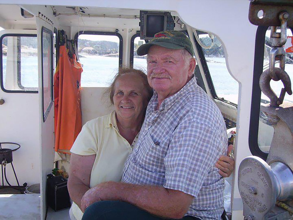 Mary Ella and Gene have been married for 55 years