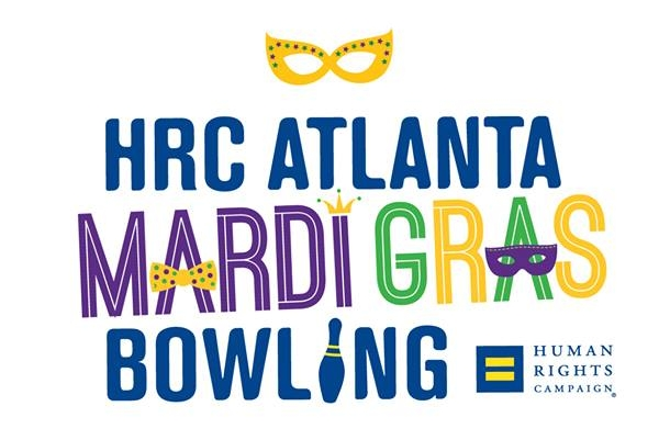 Mardi Gras Bowl - February 3, 2018HRC Atlanta is going to Bourbon St. with our 21st annual bowling tournament, Mardi Gras Bowl. Join us for a fun and festive masquerade-themed afternoon of bowling, prizes and music. Also, be sure to jazz up your best mask and pull out your feather boa and most fabulous beads to enter our best group costume contest.This is a family-friendly event and open to EVERYONE. Your ticket includes two hours of bowling, shoe rental and HRC membership or renewal.
