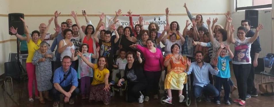 Lo yoga della risata per persone disabili