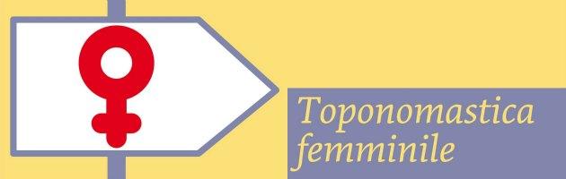 Banner Toponomastica femminile