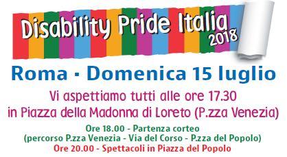 Locandina Disability Pride