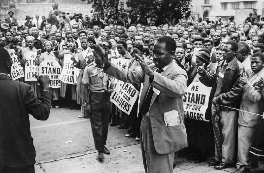 The Anti-Apartheid Movement