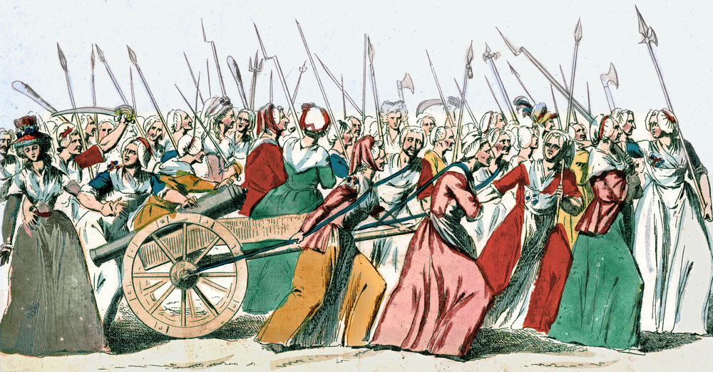 Copy of The Women's March on Versailles