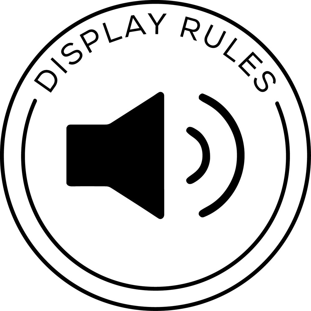display rules The display rule appears on the display rules tab in the right pane here is an example of an automatically populated display rule that uses an icon.