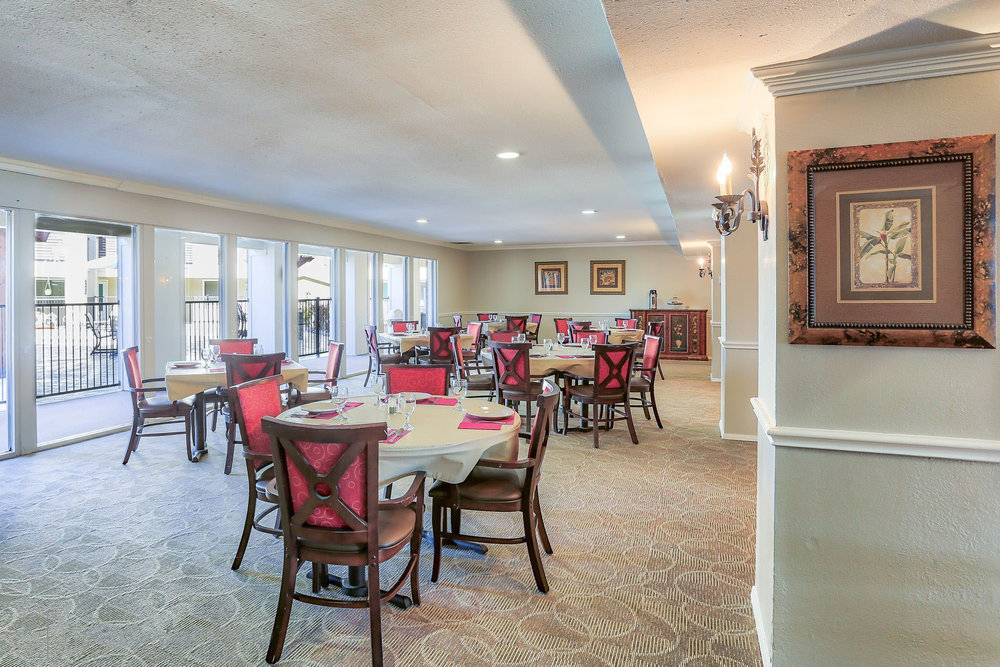 Montclair Estates Garland Texas Dining Area