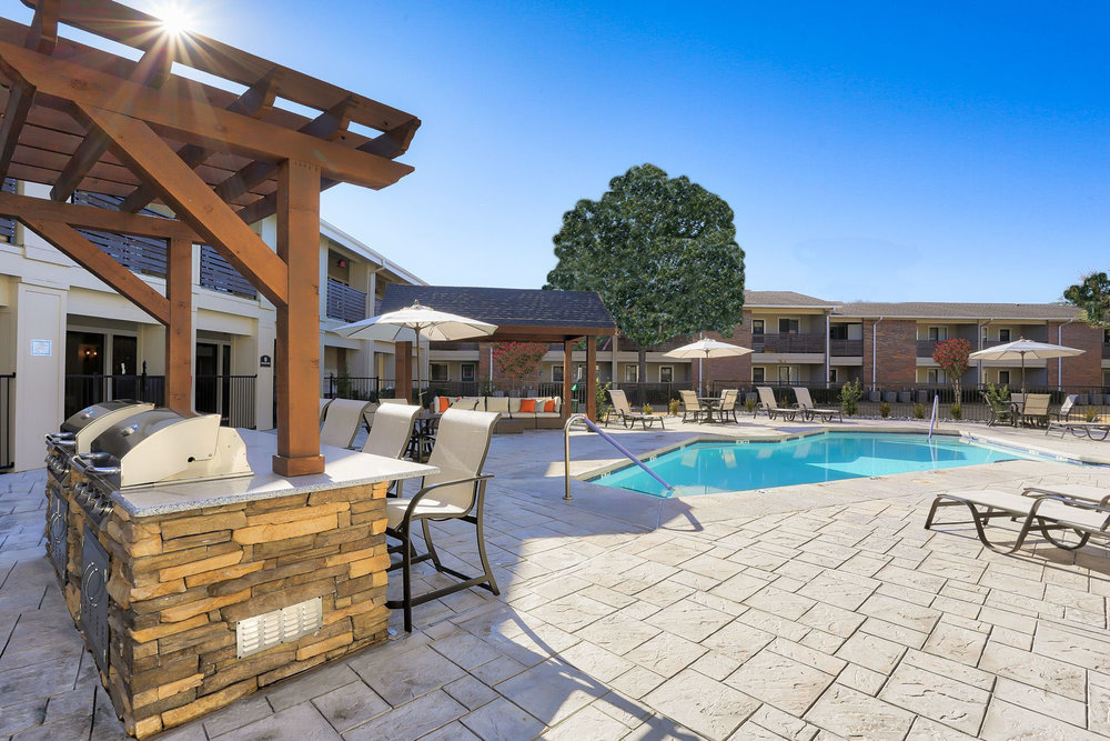 Montclair Estates Garland Texas Pool and BBQ Grill