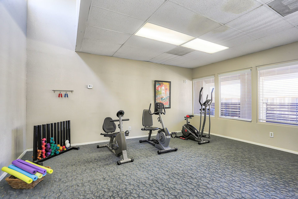 Montclair Estates Garland Texas Fitness Room