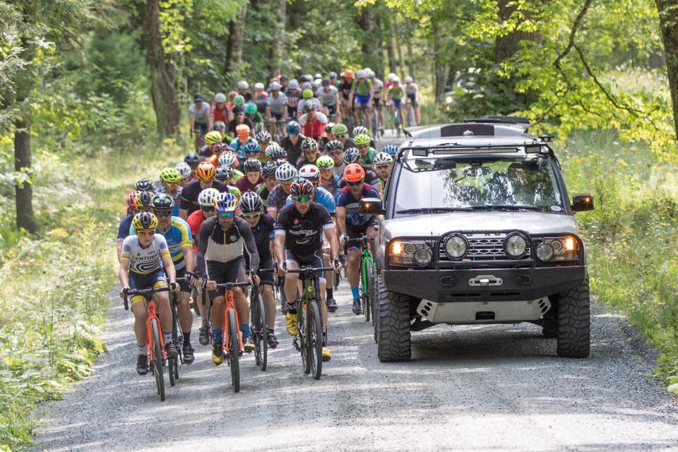 """The Overland - Sunday, August 26, 2018: The Overland is a 45-mile dirt road bicycle race featuring 6,000 feet of climbing,eight sections of """"Vermont pavé"""" (unmaintained ancient public roads), two well-fortified sag stops, a magnificently scenic route and an awesome party afterwards. It's the ultimate overland adventure ride.  Open dirt roads, amazing scenery and an epic course unlike any you've ever ridden before, all within a beautiful Vermont pastoral setting. REGISTRATION OPENS NEW YEARS DAY AT 10 AM!REGISTER HERE"""