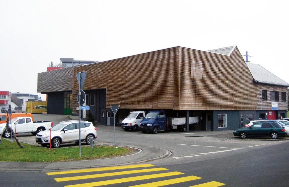 Hausenbaur Holzbau AG - Firmensitz