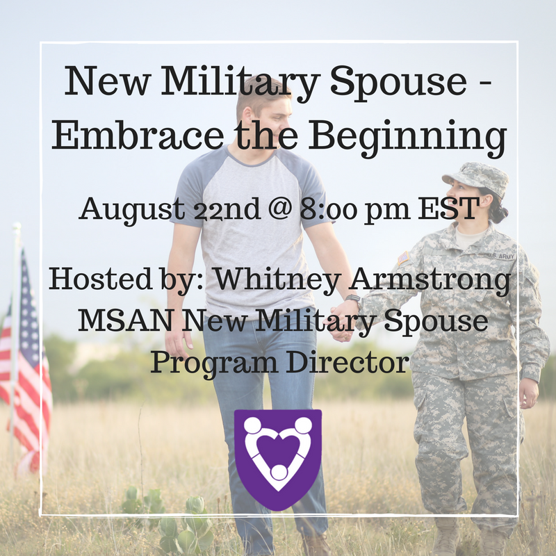 New Military Spouse - Embrace the Beginning.png