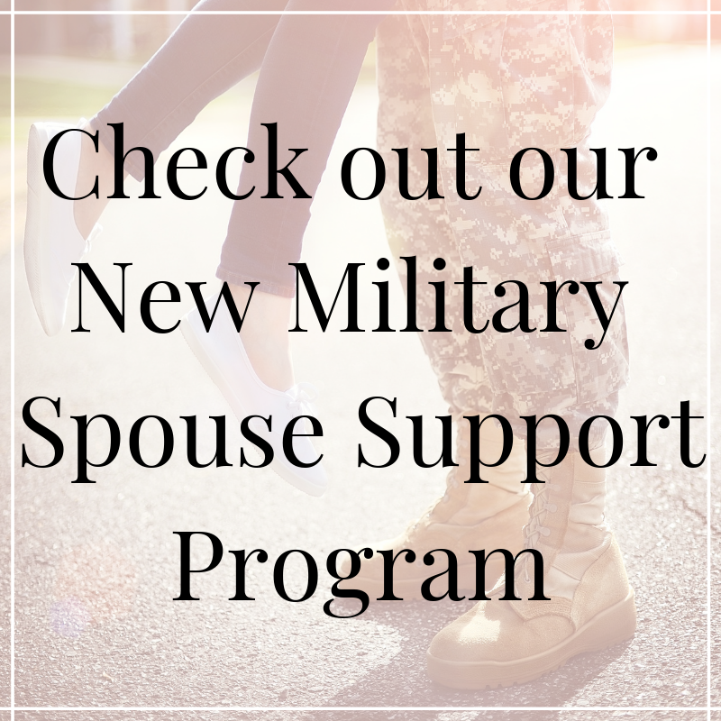 Connecting YOU with your future installation's Family Readiness Center, Key Spouses, Ombudsmen, Family Readiness Groups (FRGs), MSAN installation mentors, and other supportive agencies for continued support.    While you are there fill out our New Military Spouse Survey! So we can provide you Peer-to-Peer Mentorship, Support & Empowerment!