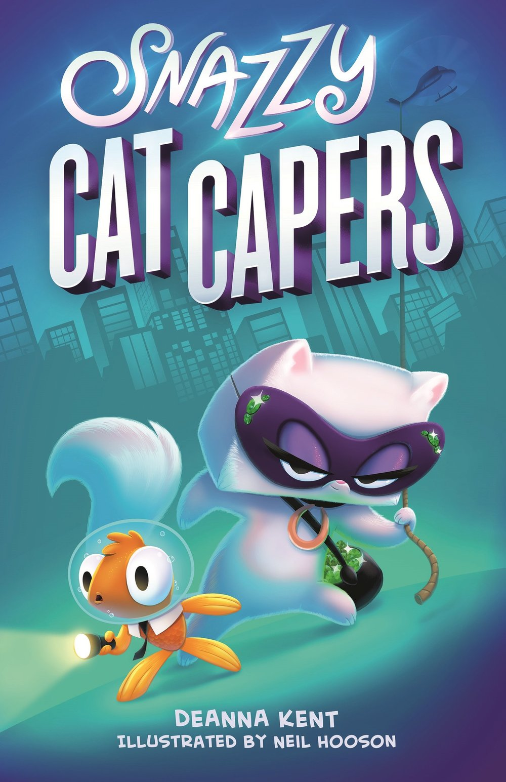 The first book in the Snazzy Cat Capers series comes out September, 2018 to a bookstore near you!