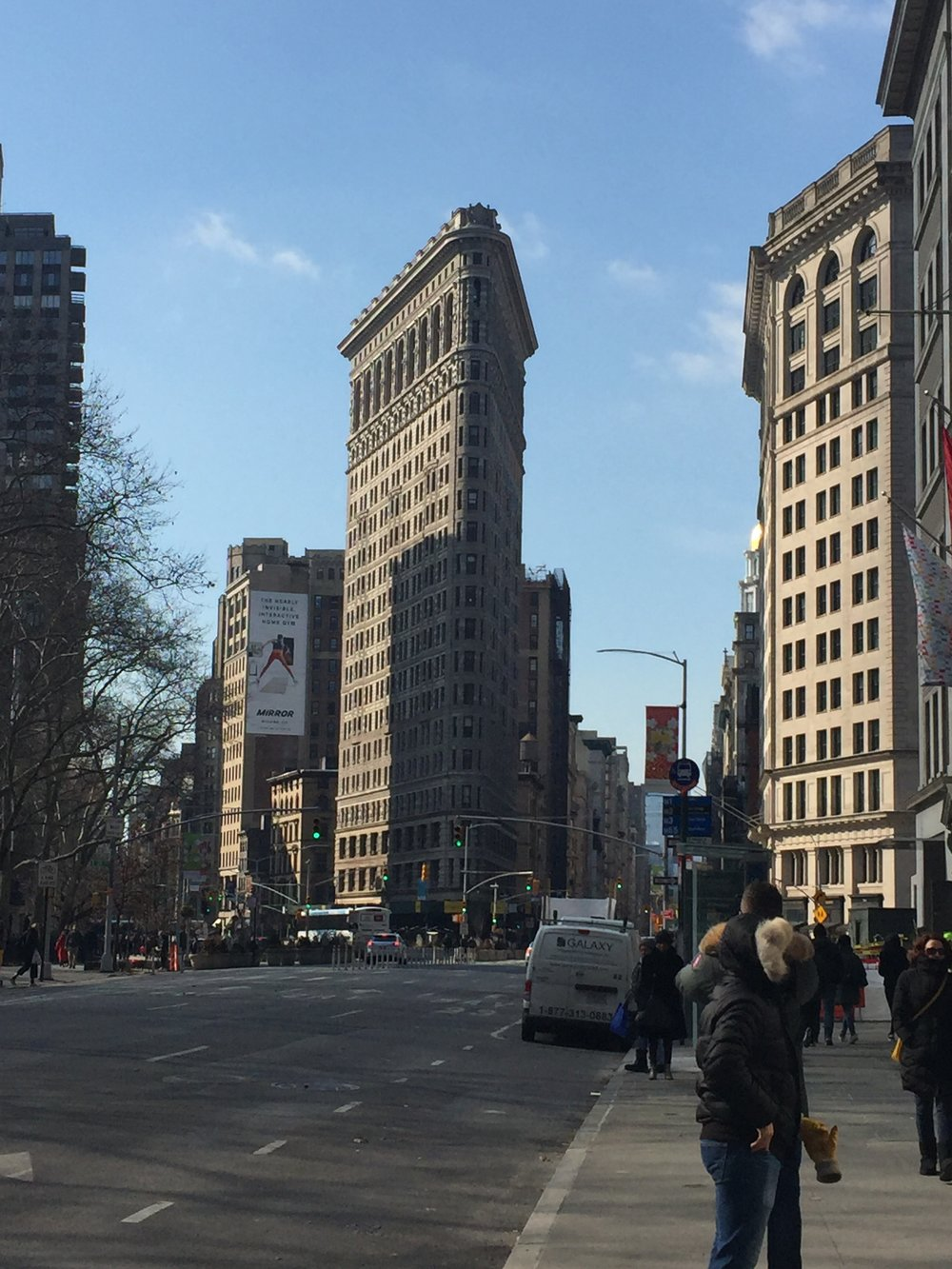 The beautiful NY Flatiron Building!