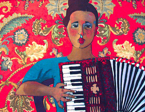 L'Acordeonista  by Kathy Sosa. All rights reserved. Used with permission.