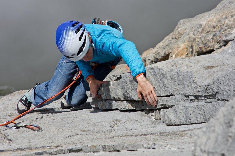 Walter Fetscher Klettern