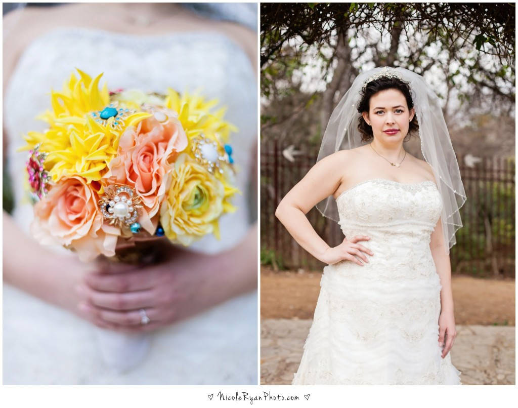 Bridal Portraits at Lustre Pearl by Nicole Ryan Photography in Austin, TX