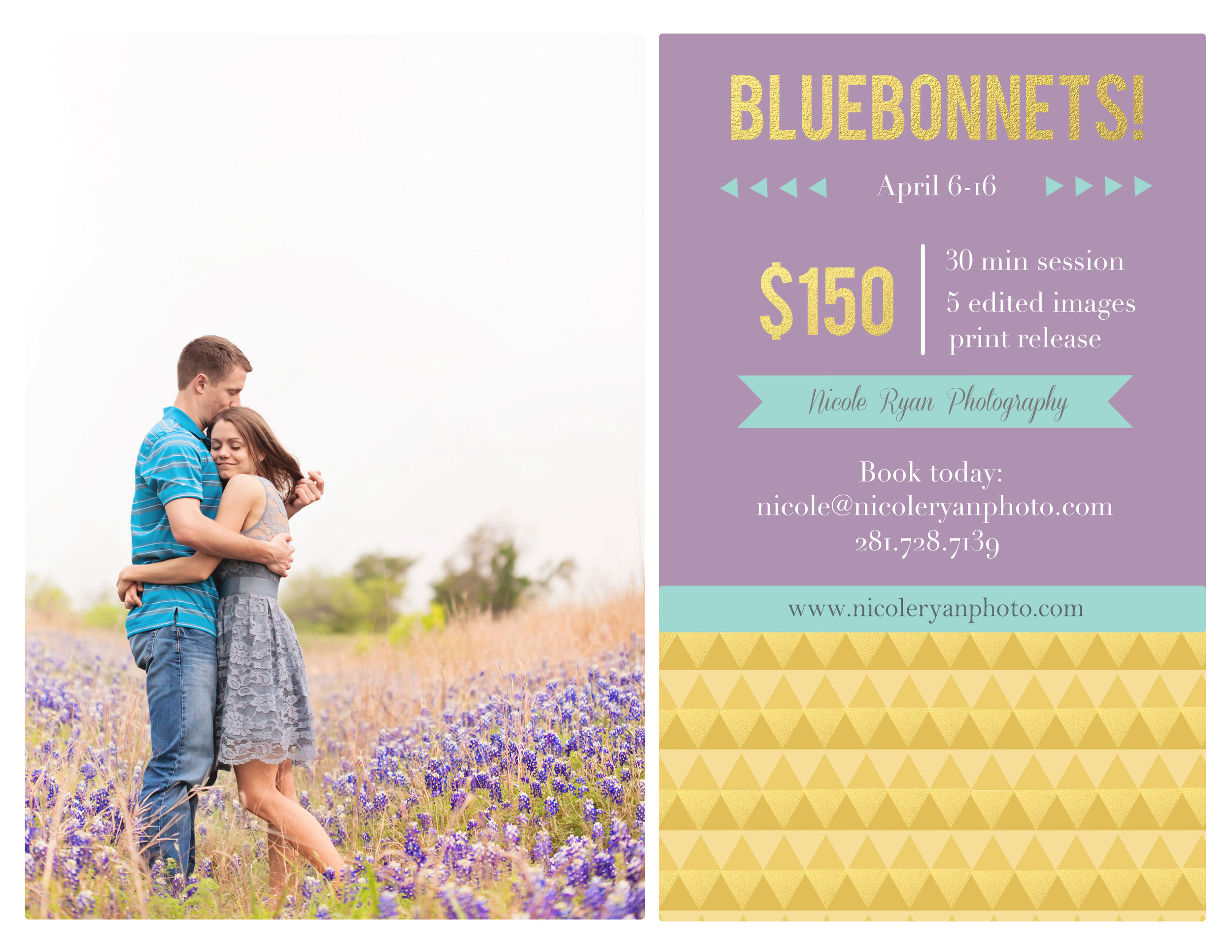 Bluebonnet Photos in Austin