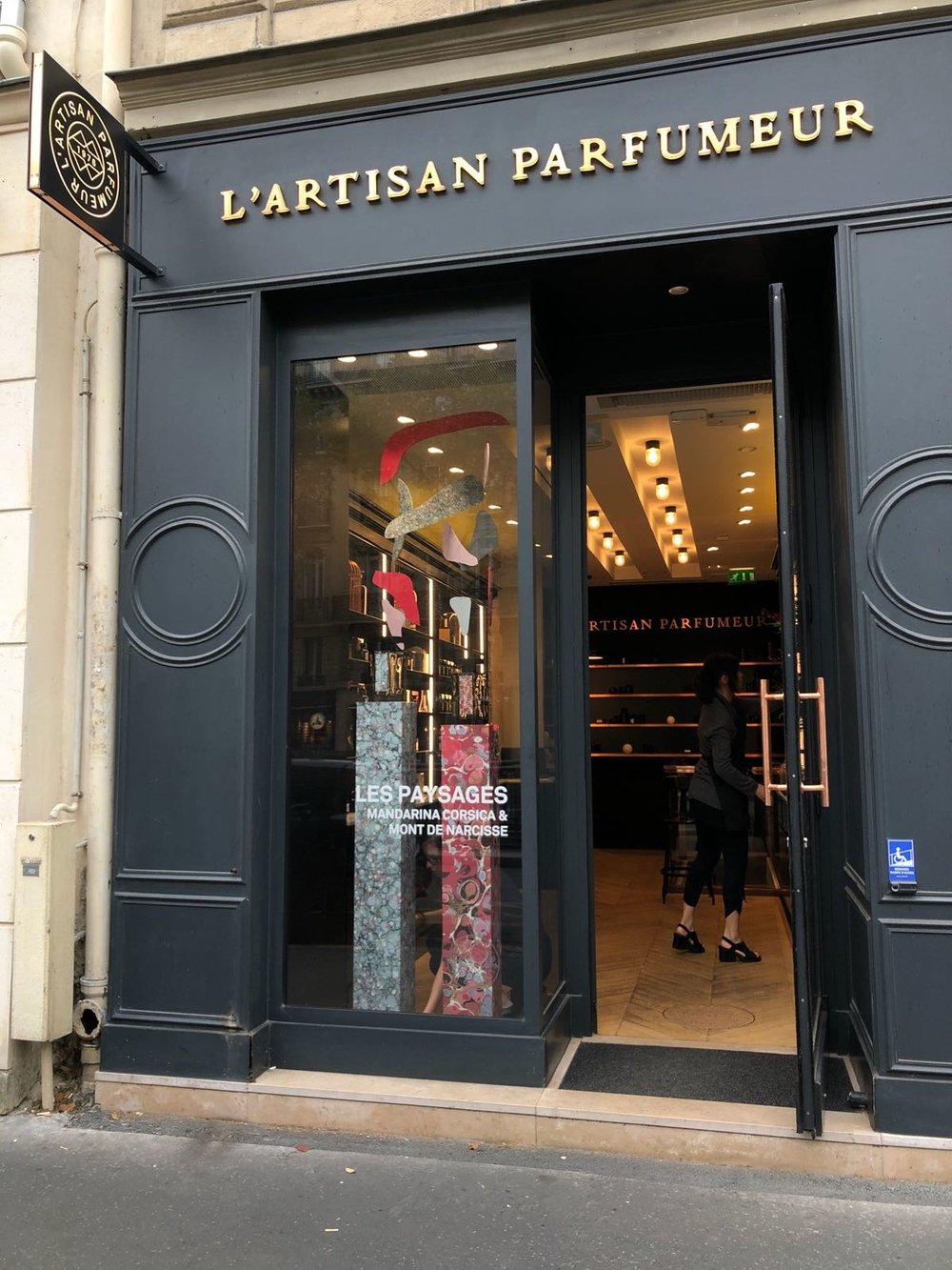 St Germain Paysages window display
