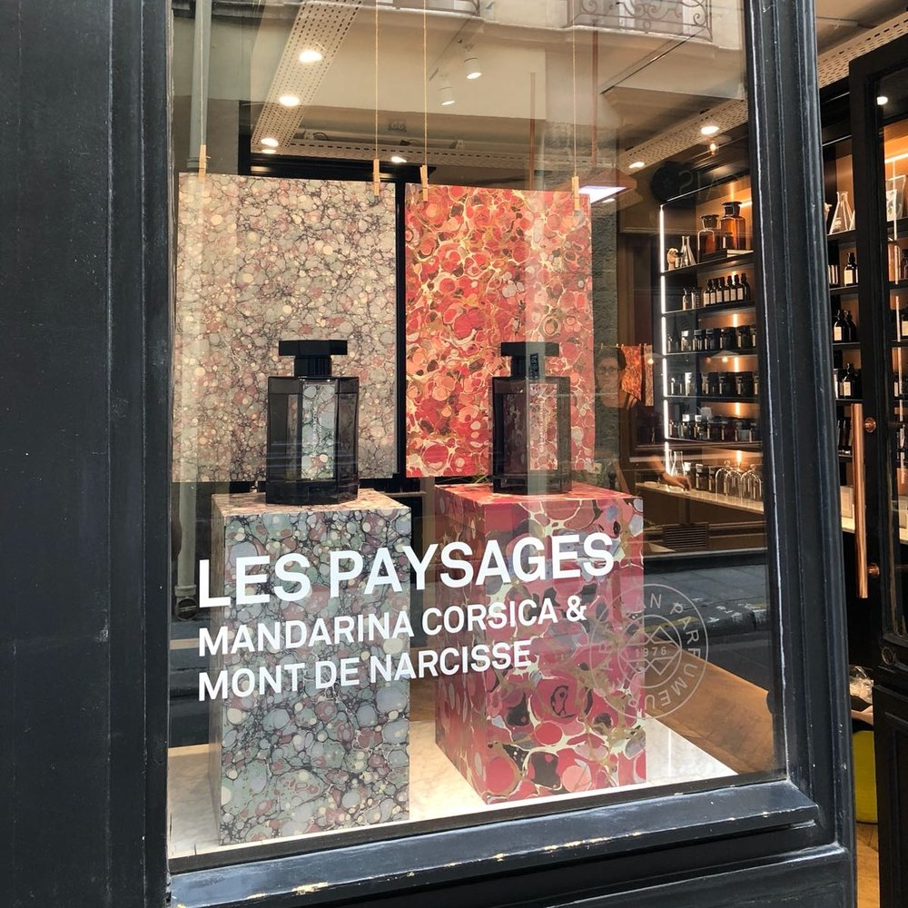 Marais Paysages Window Display