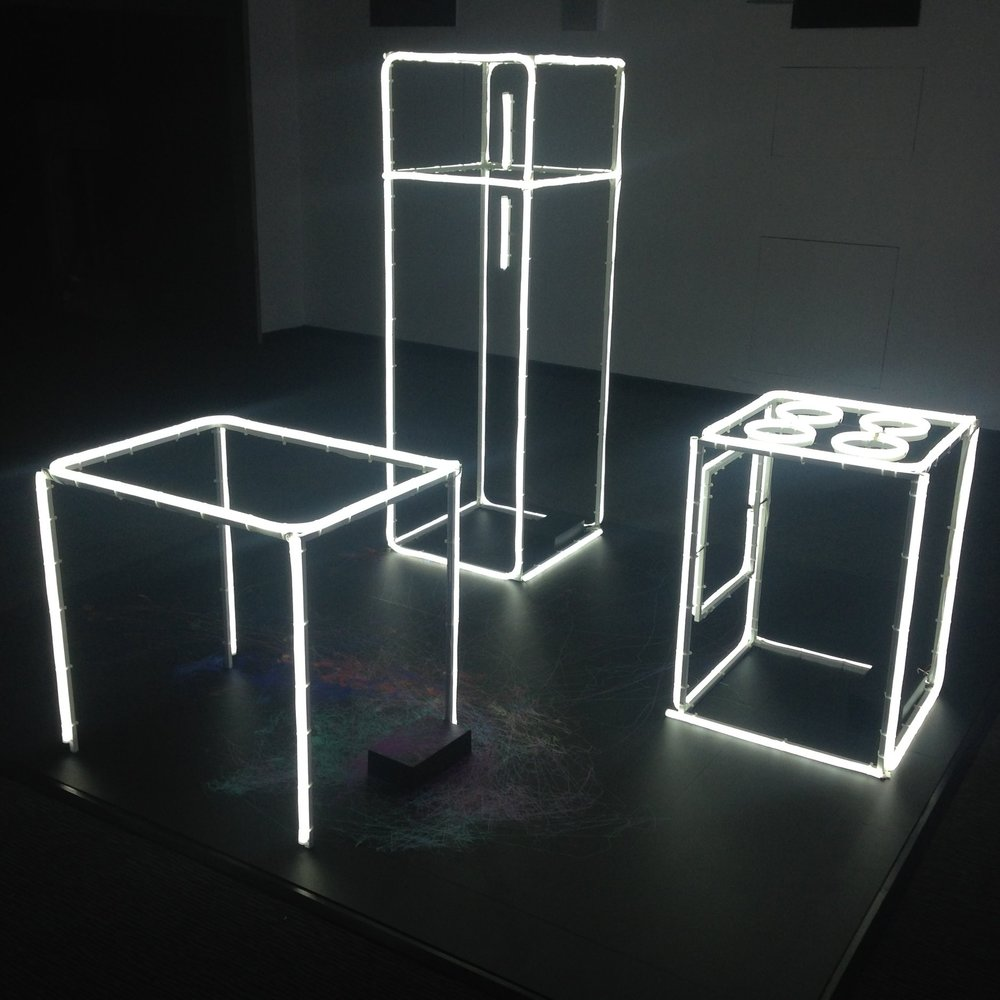 LED rope light table fridge and cooker