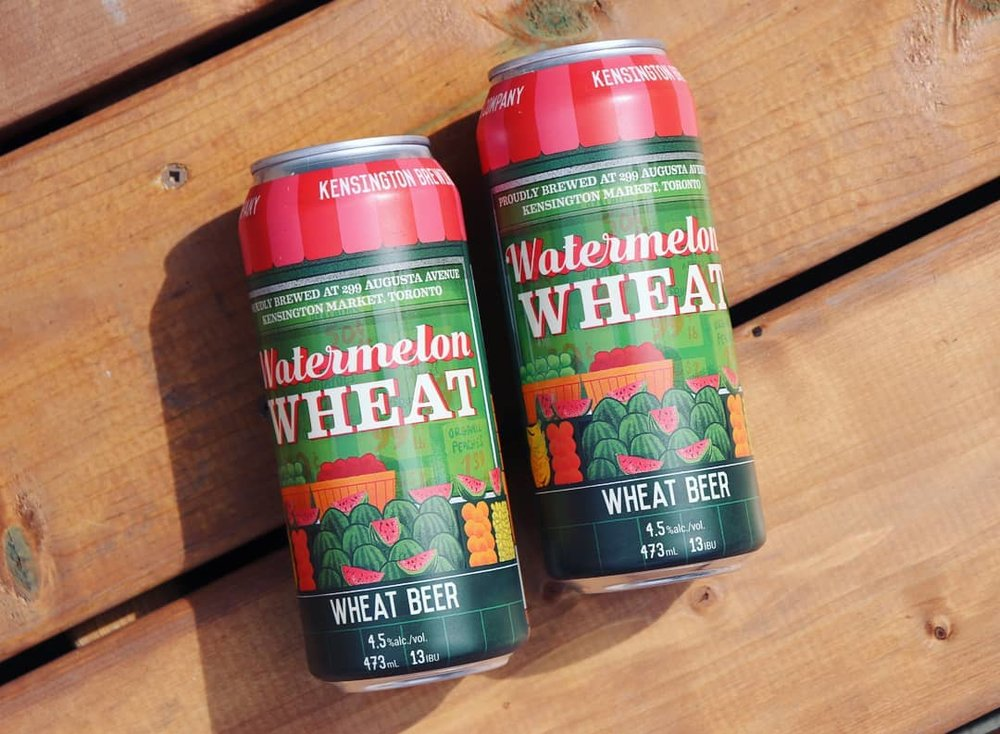 Kensington - They have brought back their Watermelon wheat!
