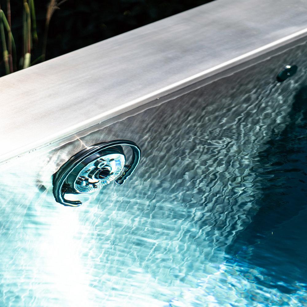 Gegenstromanlage - Grenzenloses Schwimmvergnügen.