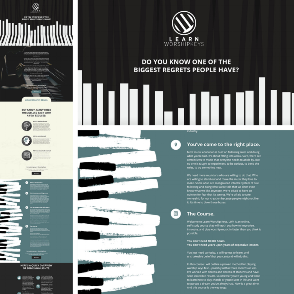 Landing Pages -