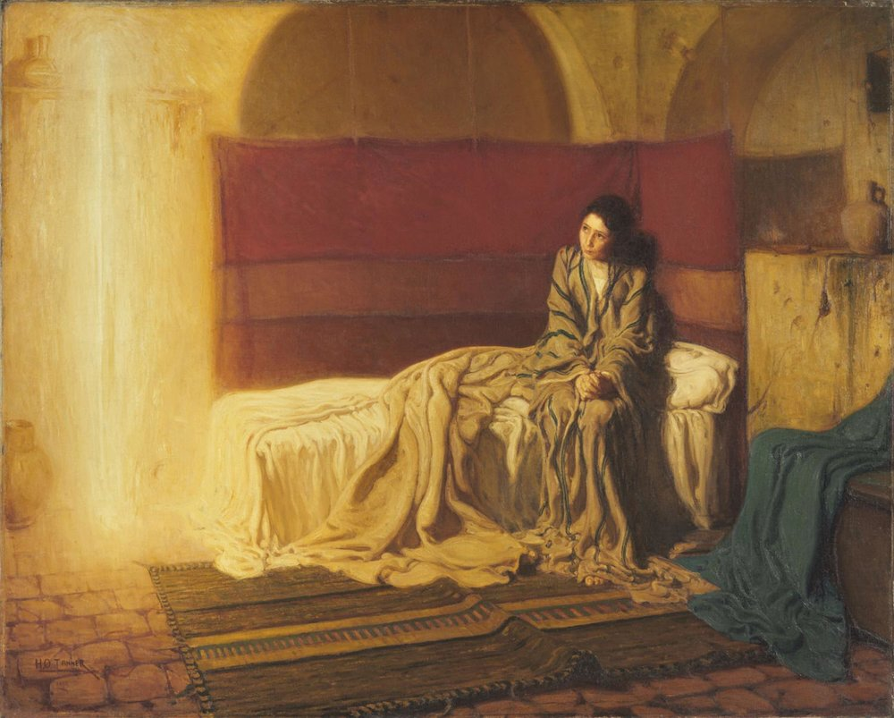 The Annunciation ~ Henry Ossawa Tanner