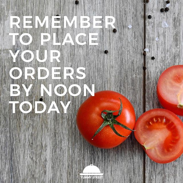 Place your orders today by noon for next week delivery! Tag someone to get on the #paleodiet  yummystreet.com⠀⠀⠀⠀⠀⠀⠀⠀⠀ ⠀⠀⠀⠀⠀⠀⠀⠀⠀ #linkinbio #paleo #eatclean #fitfam #weareoxfit #crossfit #grantpark #atlanta #discoveratlanta #atlantafoodie #foodie #eatyourcolors #cleaneating #recipetesting #paleodiet #paleorecipes #paleofood #fooddelivery #atlantaeats #insta #instafood #instafoodie #foodporn #foodphotography