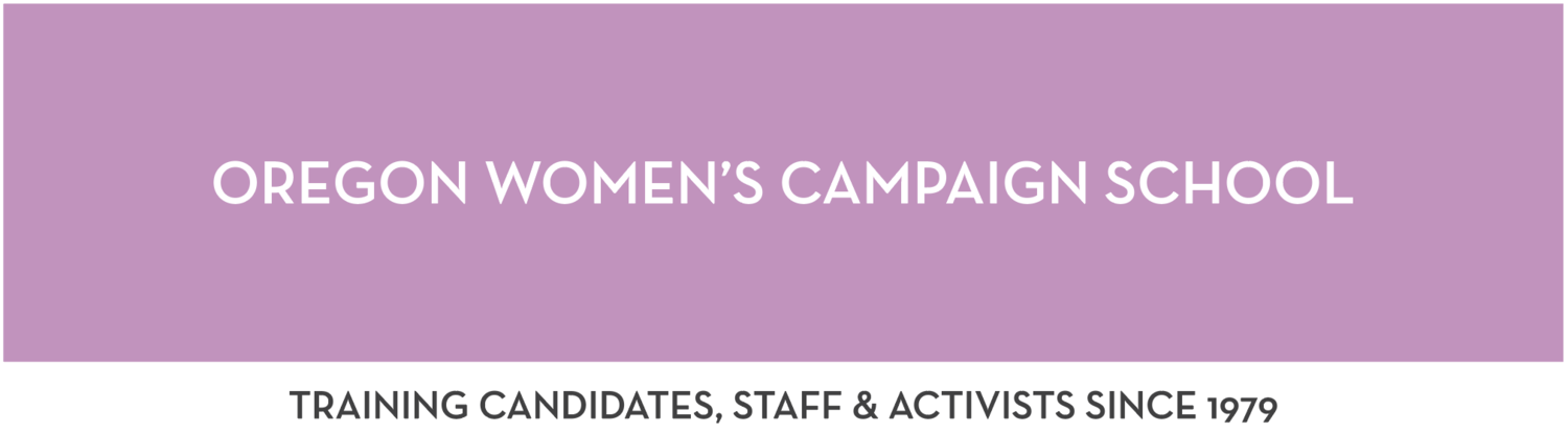 Oregon Women's Campaign School