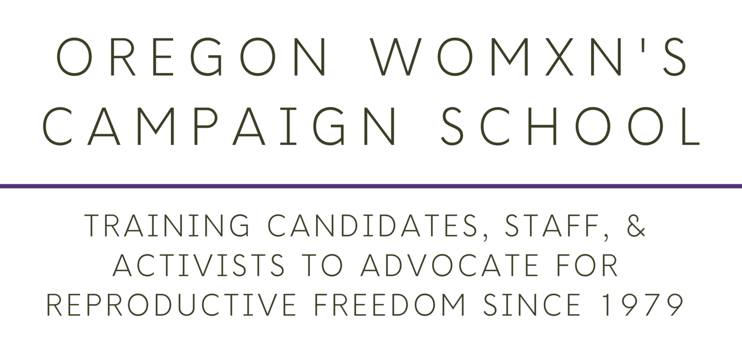 Oregon Womxn's Campaign School