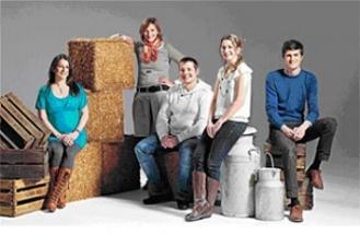 From left to right: Katherine Manning, Rose Prince, Martin Gott, Stephany Hardingham and Raef Hodgson.