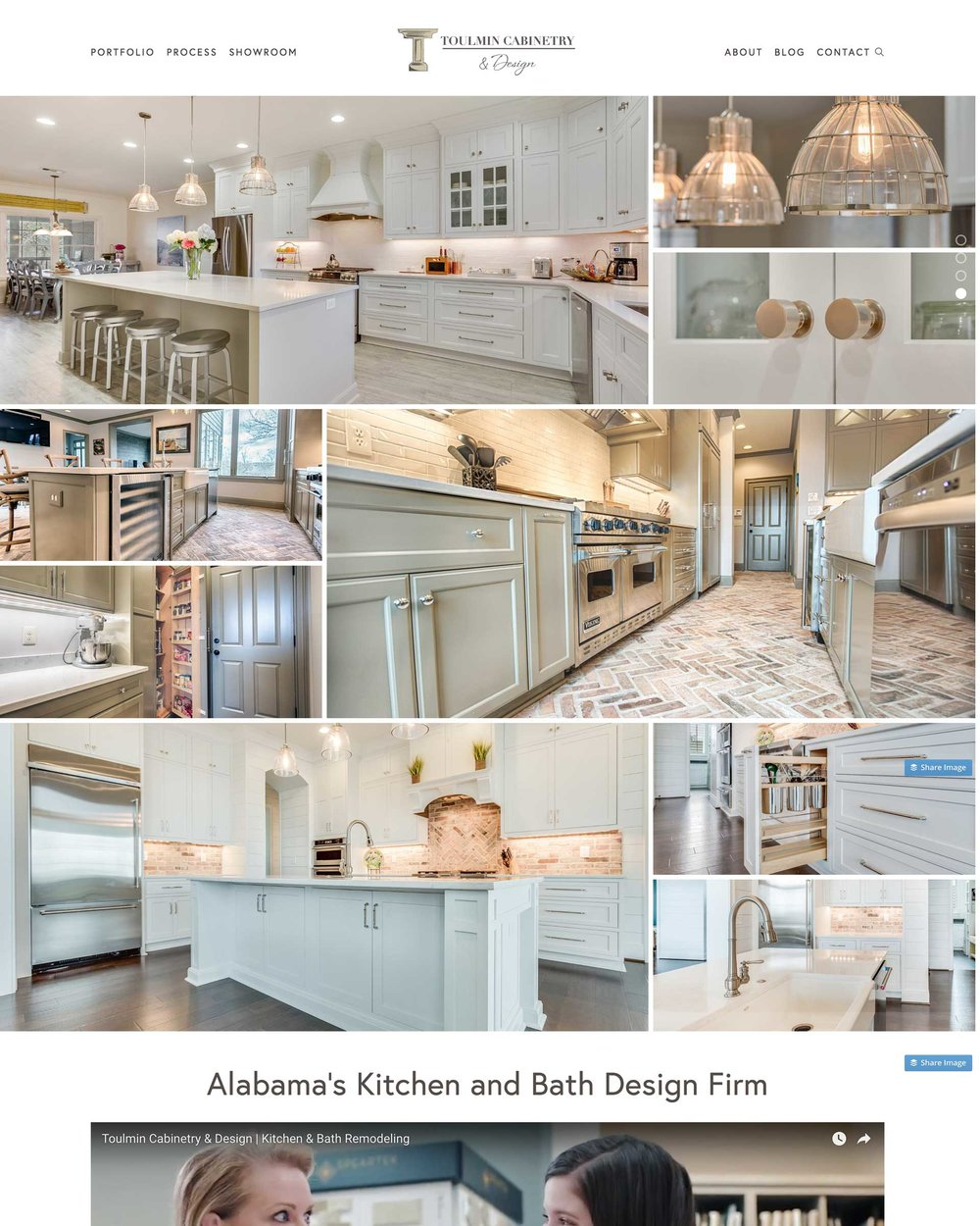 Toulmin Cabinetry and Design - A Cabinetry Showroom and Kitchen and Bath Design-Build Company
