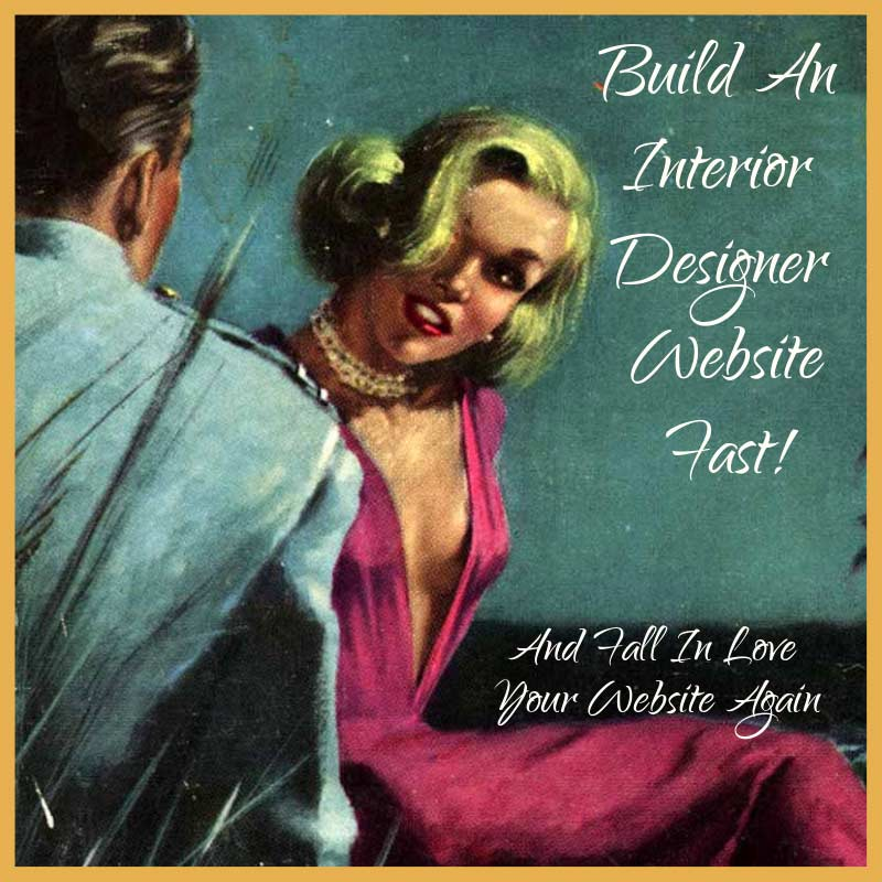 How long does it take to build an interior designer website?
