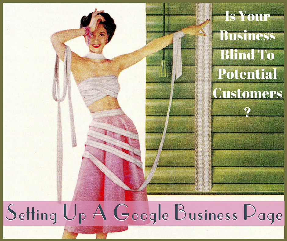 Setting up a Google Business Page