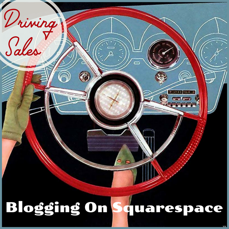 Interior Design Blogging on Squarespace