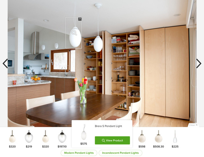 Houzz Visual Match Tool
