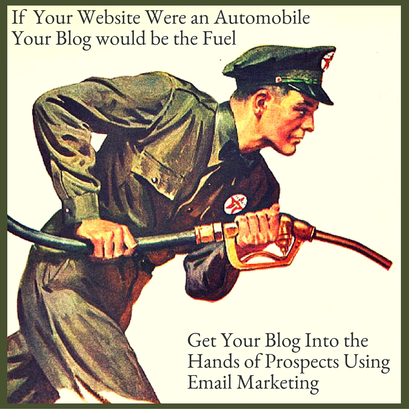 Learn about automated email marketing of your blog articles.