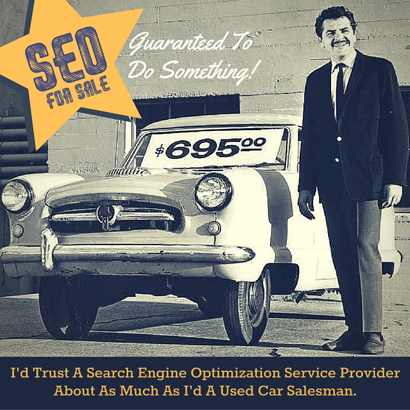 SEO Services Are a Scam - Don't Get Suckered!