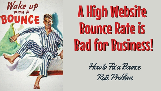 Improving Your Website Bounce Rate