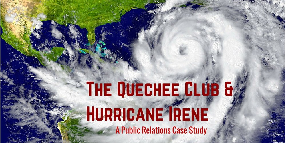 Learn How The Quechee Club Used PR Following Hurricane Irene