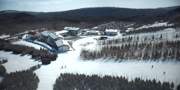3D Illustration of New Condominium Development at Mount Snow