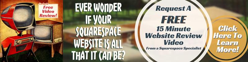 Squarespace Website Review: Get actionable Advice Sent Via Video