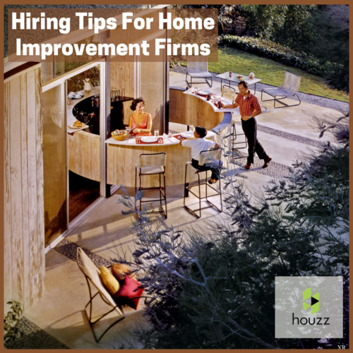 Hiring Home Renovation Professionals