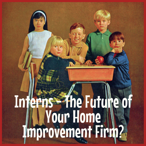 Home Improvement Hiring and Careers Interns