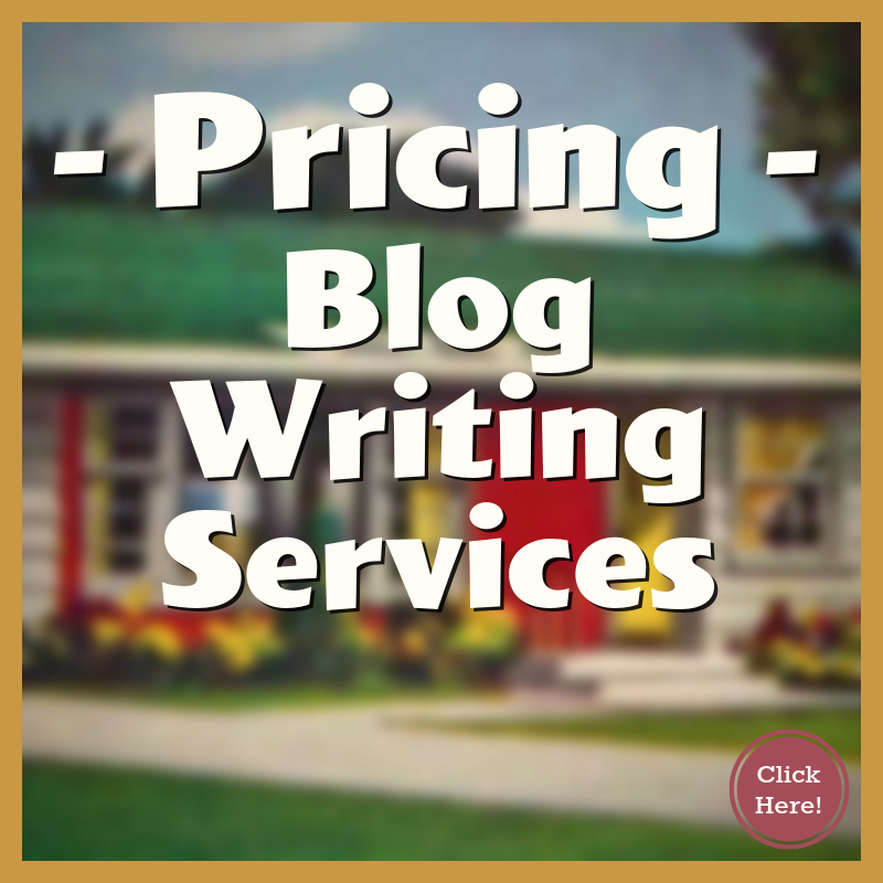 Blog Writing Services Pricing